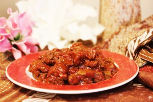 Daging Pedis (pittig rundvlees)
